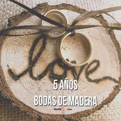 5 aniversario de bodas - Bodas de Madera