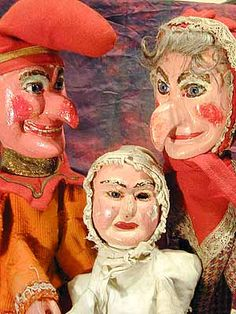 """""""The Punch Family"""" puppets by Quisto"""