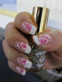 Wedding just one as an accent nail