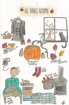 All Things Autumn Autumn Aesthetic, Aesthetic Collage, Quote Aesthetic, Aesthetic Vintage, Aesthetic Pictures, Herbst Bucket List, Fall Gift Baskets, Fun Fall Activities, Sleepover Activities