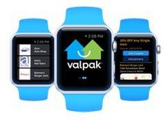 Valpak Launches New Coupon App for Apple Watch Release