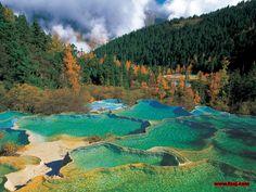 Jiuzhaigou - Valley of Nine Villages, China