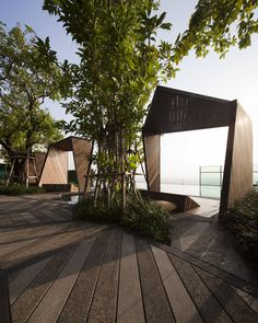 Life@Ladprao 18 Condominium Garden / Shma Design