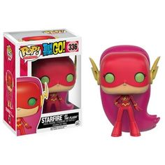 Starfire as The Flash Pop Vinyl Pop Television Teen Titans | Pop Price Guide