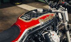Moto Guzzi Griso Flat Track - Cafe Racer Napoli - Lord of the Bikes #motorcycles #flattrack #motos | caferacerpasion.com