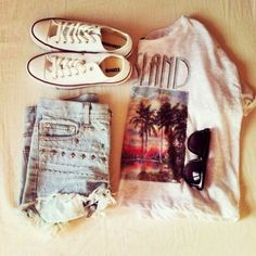 #ShareIG #converse #all #star #sunglasses #hotpans #shirt #shoes #trendy #fashion #nice #lovely #white #cool #fame #wunderful #pretty #cute #outfit #sweet #swag #wear #love #it #
