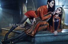 BALMAIN FALL/WINTER 2015 ADVERTISING CAMPAIGN  Bella and Gigi, Erika and Joan, and Kendall and Kylie come from a wealth of different backgrounds and histories. Collectively, they represent the fresh, diverse and open spirit of a new generation of fashion. Watching them work together also made clear to me the universality of an age-old truth: the truly powerful strength, support and love that family members can provide to one another. Photographer - Mario Sorrenti Art Director - Pascal Dangin…