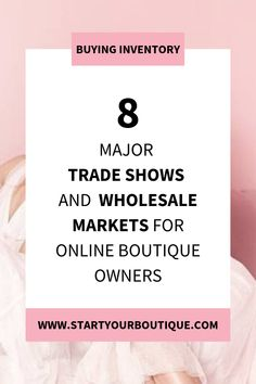 Starting an online boutique but unsure of where to buy wholesale clothing, shoes and accessories? SAVE THIS PIN then click through to find the major apparel trade shows and wholesale marketplaces that online boutique owners visit to buy inventory. Business Planning, Business Tips, Online Business, Retail Displays, Shop Displays, Merchandising Displays, Window Displays, Boutique Etsy, Boutique Ideas
