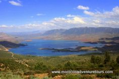 Beautiful scenery around the Ahansel river.  Perfect for rafting in Morocco