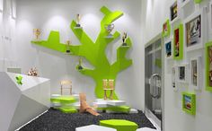 3D kindergarten interior decoration model