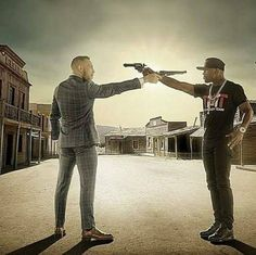 Conor and Floyd