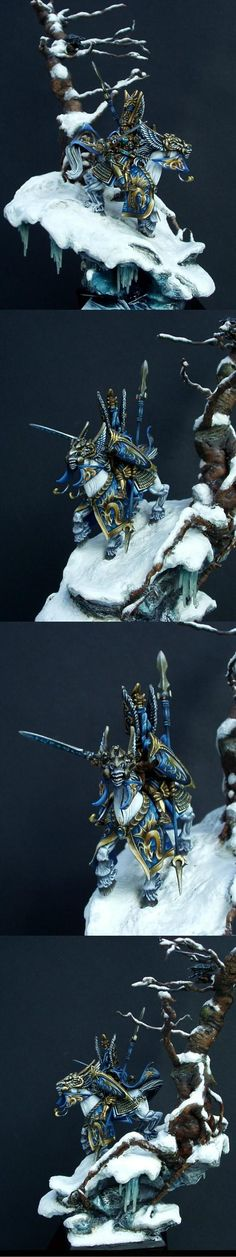 High Elves, Prince Tyrion, Warhammer Fantasy - Masterpiece !