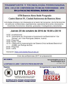 CRÓNICA FERROVIARIA: Ciclo de Conferencias Técnicas Ferroviarias