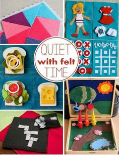 Quiet time felt activities