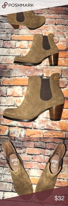 Camper Alicante Brown Suede Ankle Boots Excellent Gently Used Condition no flaws Camper Shoes Ankle Boots & Booties