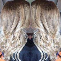 Shadow root with balayage by Amanda Ludwig of Gravity Hair  in PA