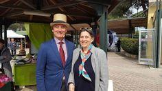 Io con Enrico Querci squisito ospite e perfetto organizzatore di questa bellissima giornata di moda e ippica all'@ippodromosanrossore  #sanrossore #ippica #cavalli #horses #cappelli #cappello #hat #hats #instalike #instalife #instamoment #l4l #like4like #likeforlike #moda #fashion #modauomo #manfashion #modadonna #womanfashion