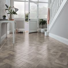 Our Art Select collection offers three designs in a matching full-length plank, parquet and basketweave. Explore our range today by clicking on the link in our bio. Karndean Design Flooring, Vinyl Wood Flooring, Hall Flooring, Parquet Flooring, Flooring Ideas, Wood Laminate, Laminate Flooring, Kitchen Flooring, Wooden Floor Tiles