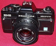 Praktica BMS electronic, my second camera.