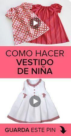 404 Not Found Sewing Baby Girl Dress Patterns, Baby Clothes Patterns, Dress Sewing Patterns, Little Girl Dresses, Dress Girl, Sewing Baby Clothes, Baby Sewing, Sewing Diy, Toddler Dress