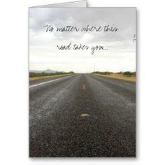 De eenzame Kaart van de Steun van de Weg
