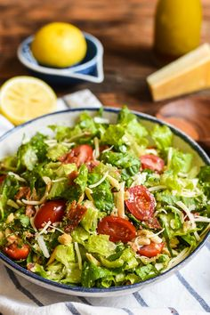 This salad, known in our family only as That Good Salad, is the best combination of crunchy, fresh, bacony, cheesy goodnees!