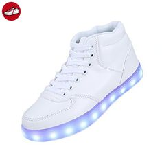 [Present:kleines Handtuch]Blau EU 29, laufende Leuchtend Schuhe Winter JUNGLEST® Kinderschuhe Colorful USB Sport LED Unisex Paare Herbst Leucht weise Freizeitschuhe und Farbe