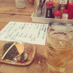 [2014/09/12]    磯丸くんに来やしたぁー♩    相方待ちーーー      @磯丸水産
