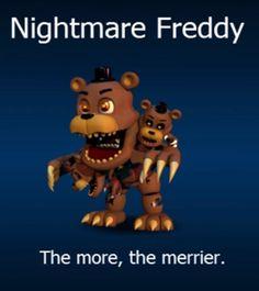 FNaF World Nightmare Freddy!
