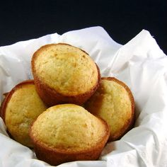 One Perfect Bite: Honey Muffins. These were yummy. I used egg sub and almond milk and made them as mini muffins. Reduced cooking time to 10 minutes.