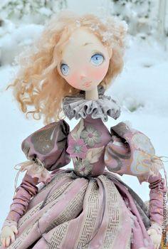 Muñecas de colección hechos a mano.  Masters Feria - hecho a mano muñeca de colección de Catherine.  Hecho a mano.