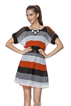 Limited Edition Striped Tunic Dress $99.99