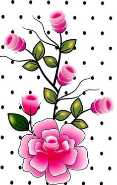 Arte Floral, Flower Images, Flower Art, Rose Vine Tattoos, Wallpaper Backgrounds, Iphone Wallpaper, Painted Hats, Art Quotes Funny, One Stroke Painting
