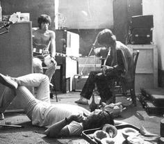 Stones en Francia 1971, foto de Dominique Teslá