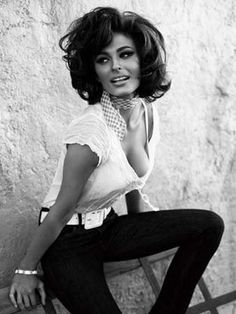 Sophia Loren - the definition of classic sexy,