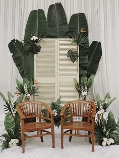 48 Gorgeous Ideas to Set Up a Wedding Backdrop tropical wedding backdrop, photo booth, summer weddings. wedding backdrop 48 Gorgeous Ideas to Set Up a Wedding Backdrop