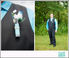 shotgun shell boutonniere Stephen would love this idea