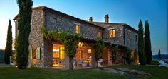 home in tuscany, italy