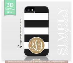Monogram+iPhone+4+Case+iPhone+4s+Case+iPhone+5+by+simplymonogram,+$24.99