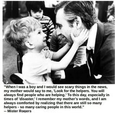 Mr. Rogers and friends. <3