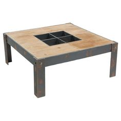 Found it at AllModern - Bolt Coffee Table in Distressed Natural