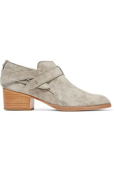RAG & BONE Harley Suede Ankle Boots. #ragbone #shoes #boots