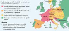 Mapa del Imperio napoleónico 1804-1815