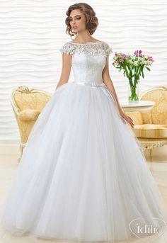 beautiful wedding dress Dress: Jennifer-1 | Idilio Bridal