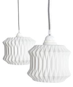 Porcelæns lampeskærme