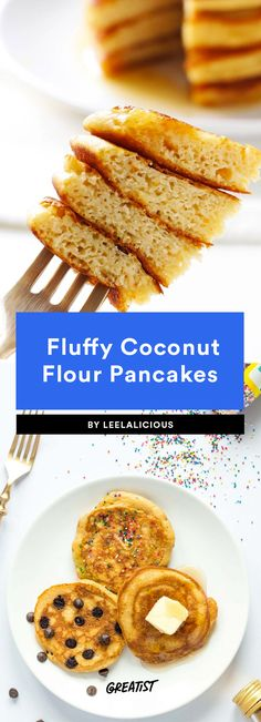 9 Recipes That Prove Why Coconut Flour Is So Awesome Dairy Free Recipes, Low Carb Recipes, Vegan Recipes, Cooking Recipes, Gluten Free, Diabetic Recipes, Coconut Flour Pancakes, Coconut Flour Recipes, Almond Flour