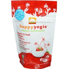 Organic Yogurt Melts Strawberry (8 Count) 1 Ounces $27.45 (30% OFF)