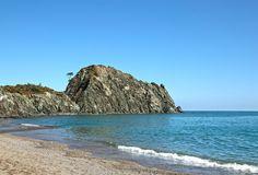 The left side of the Çıralı beach