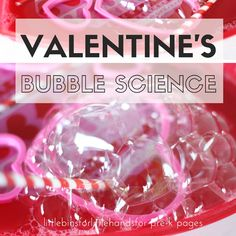 Valentine Science Activity for Preschool - Pre-K Pages