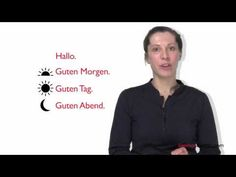 Learn German in 3 Minutes - Greetings in German. Learn German with GermanPod101.Com #Germany #Berlin